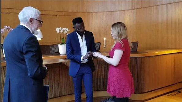 PHOTOS: Mr May D Weds Swedish Fiancée, Carolina