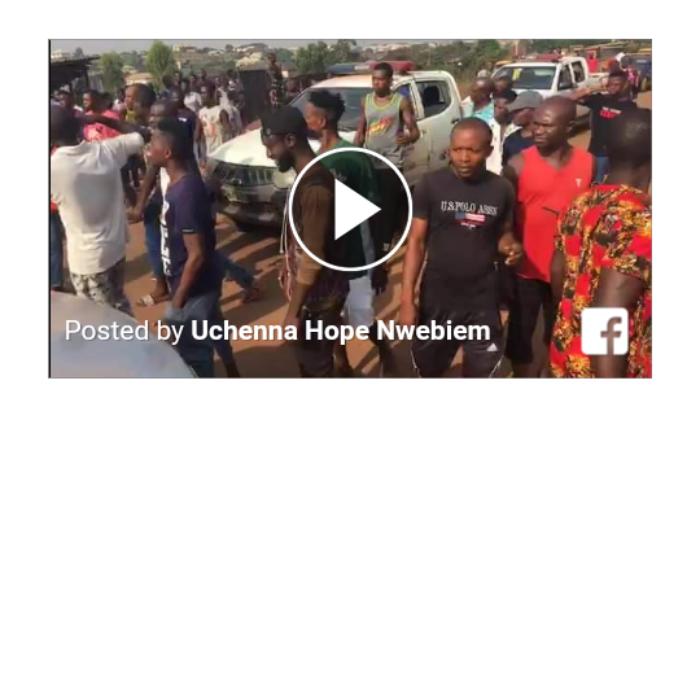 BREAKING: Chaos in Ugwuaji Community Enugu, 2 Person Shot (video)