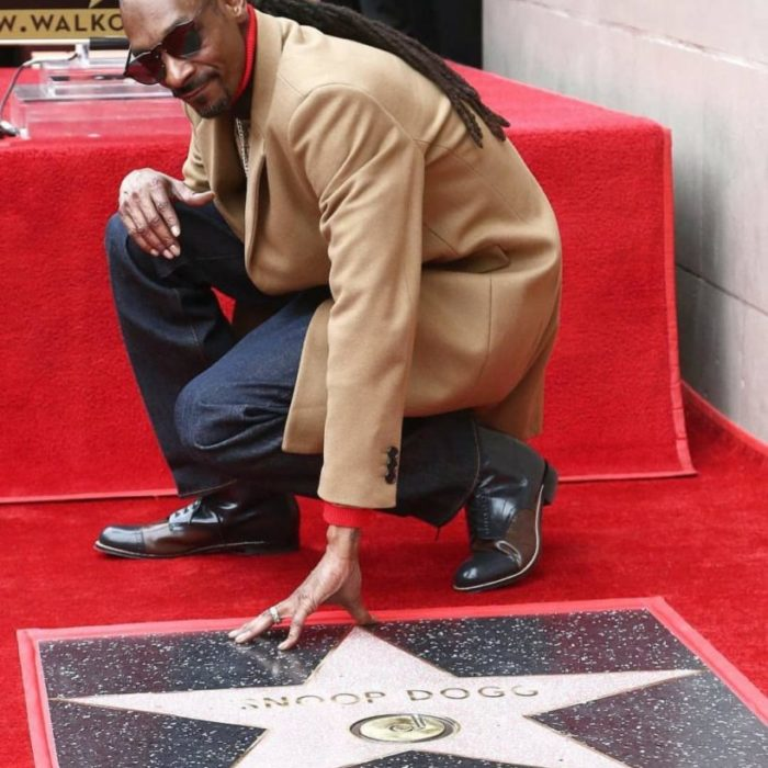 Snoop Dogg receives Hollywood Walk of Fame Star!